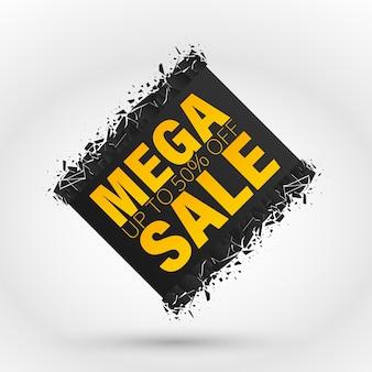 Banner di vendita mega