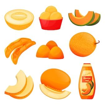 Prodotti alimentari di frutta melone