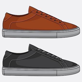 Stili di scarpe moda uomo