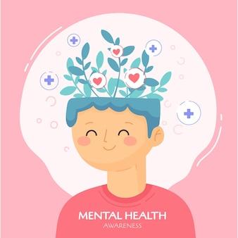 Concetto di consapevolezza della salute mentale