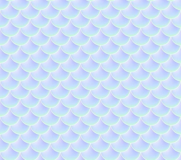 Scaglie di sirena. pesce squama. modello senza cuciture. colore di sfondo ad acquerello. stampa in scala.