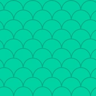 Reticolo senza giunte della coda di sirena. texture della pelle di pesce. sfondo coltivabile per tessuto da ragazza, design tessile, carta da imballaggio, costumi da bagno o carta da parati. fondo blu della coda della sirena con la scala di pesce sott'acqua.