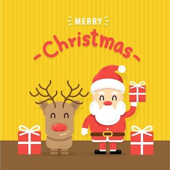 Buon natale e auguri di felice anno nuovo