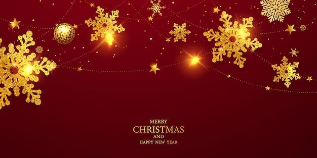Buon natale e felice anno nuovo sfondo. sfondo di celebrazione