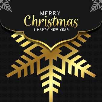 Sfondo di buon natale e felice anno nuovo sfondo mandala di lusso con arabeschi dorati