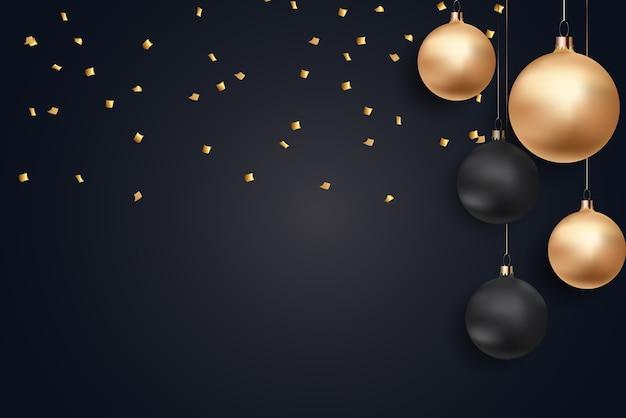 Buon natale e anno nuovo sfondo