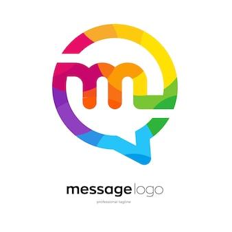 Design del logo dell'app di messaggistica