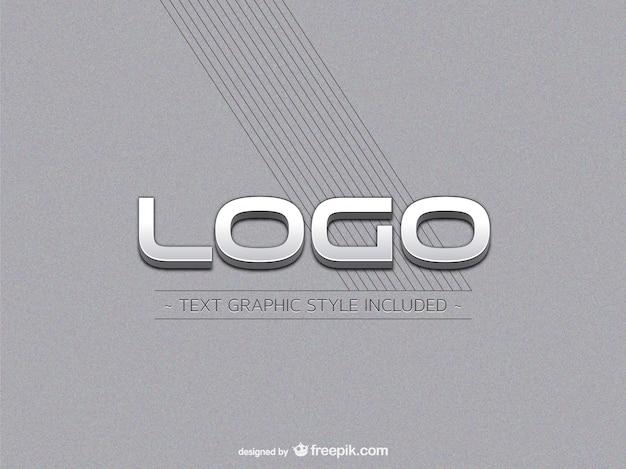 Metallico logo mockup