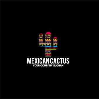 Logo cactus messicano