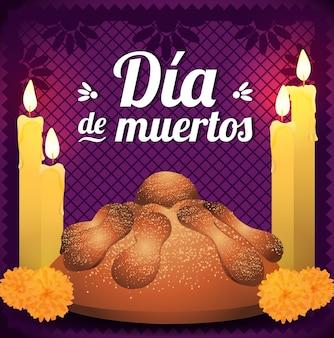 Pane messicano del giorno dei morti