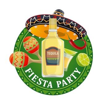 Festa della festa messicana