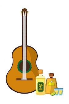 Cartone animato icona messicana