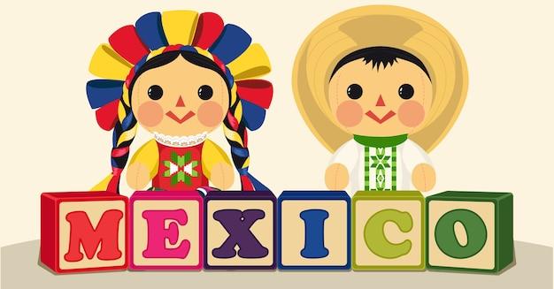 Giocattoli tradizionali messicani