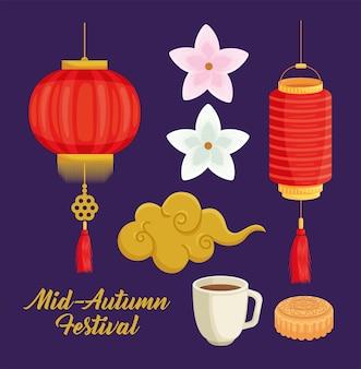 Icone del festival di metà autunno