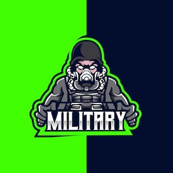 Logo militare esport e sport