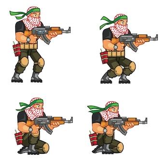 Militia game sprite
