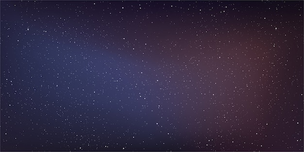 Galassia della via lattea sullo sfondo del cosmo.