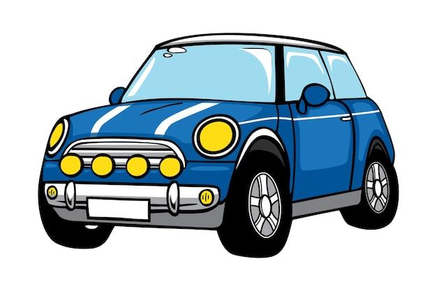 Mini car cartoon