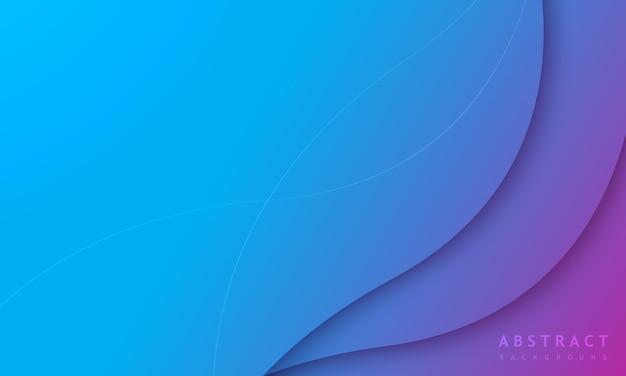 Sfondo sfumato blu minimo