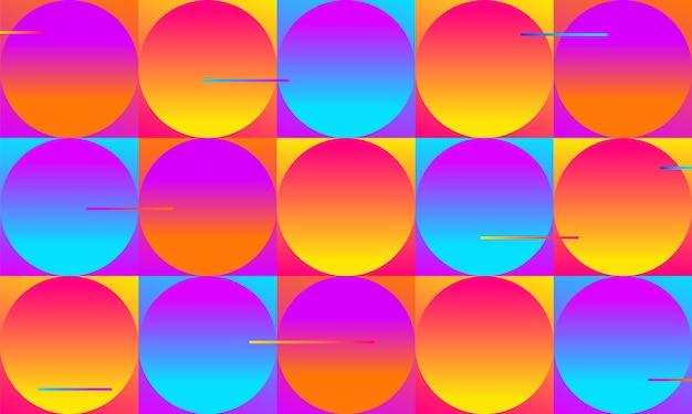 Sfondo geometrico minimo. composizione di forme dinamiche. eps10 vettore. composizione gradiente. poster dal design futuristico. scheda dal design astratto per stampe, volantini, inviti, offerte speciali e altro ancora.