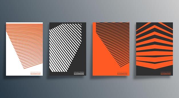 Design geometrico minimale per flyer
