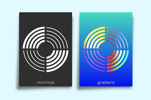 Design minimal poster geometrico.