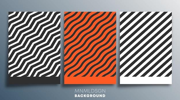 Design minimale per volantini, poster, copertine di brochure, sfondi, carta da parati, tipografia o altri prodotti di stampa. illustrazione vettoriale