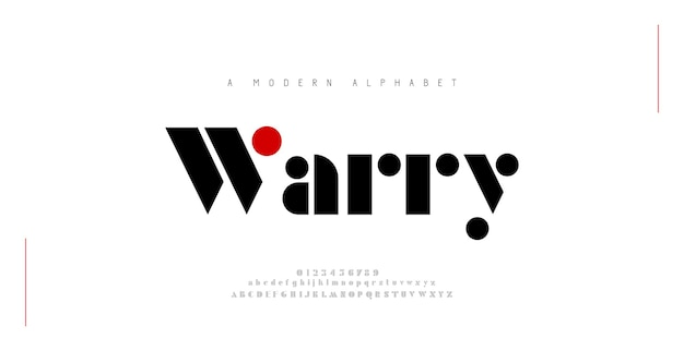 Font alfabeto moderno minimale tipografia minimalista urbano digitale moda futuro logo creativo font