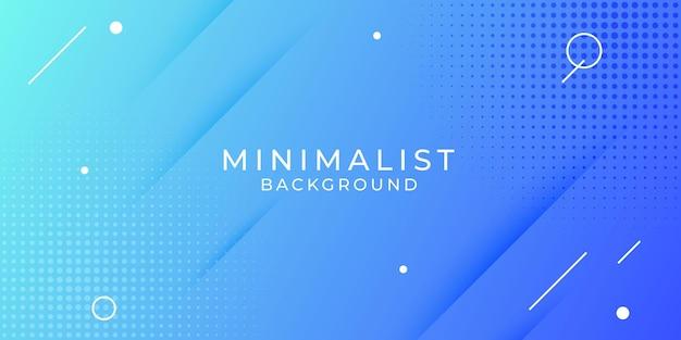 Elementi di design di sfondo creativo astratto minimalista