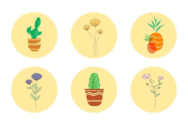 Storia di copertina minimalista instagram