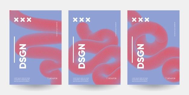 Modelli di poster minimalisti.