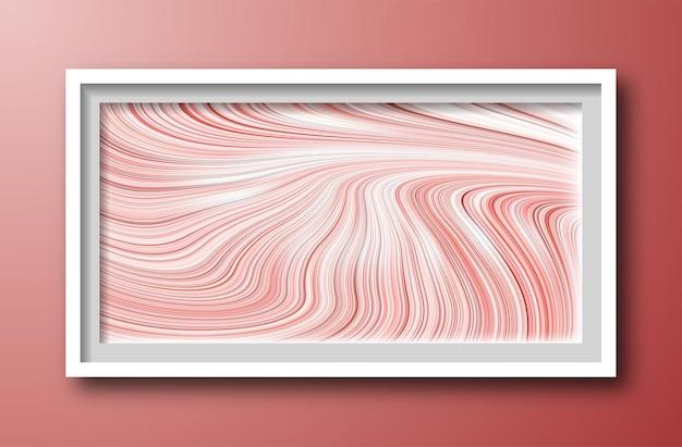 Pittura effetto marmo rosa misto