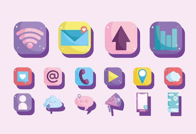 Set di app per dispositivi mobili