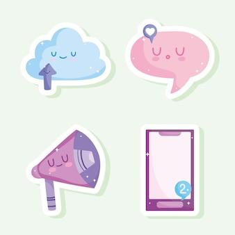 Adesivi per app mobili