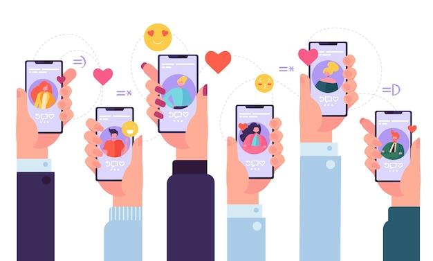 Applicazione del servizio di incontri online mobile