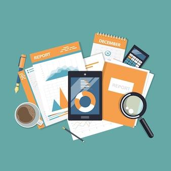 Servizi e applicazioni mobili per affari e finanza
