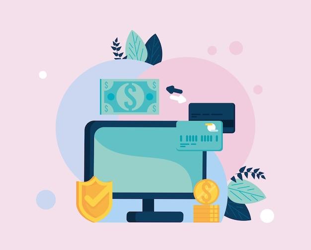 Transazione mobile con desktop