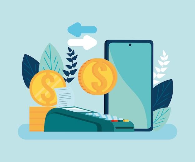 Transazione mobile con voucher