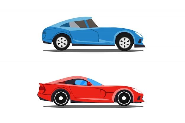 Modello di auto di profilo