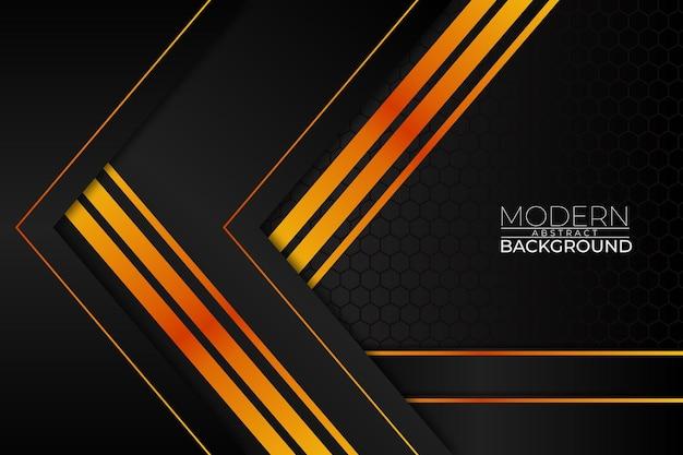 Stile arancione sfondo astratto moderno