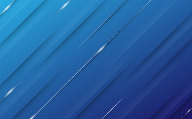 Priorità bassa astratta moderna con elementi di linee diagonali e gradiente blu pastello colorato con un tema di tecnologia digitale.