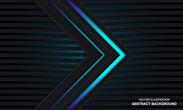 Sfondo di colore nero e blu astratto moderno