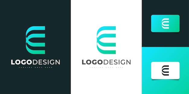 Design moderno e astratto del logo della lettera c con il concetto minimalista. simbolo grafico dell'alfabeto per l'identità aziendale aziendale