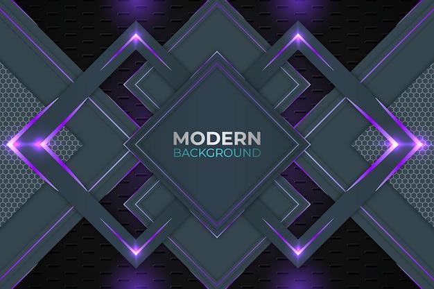 Sfondo viola e scuro astratto moderno