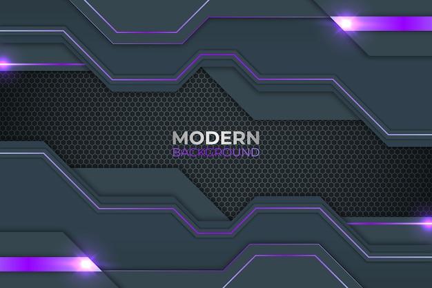 Sfondo viola e grigio astratto moderno