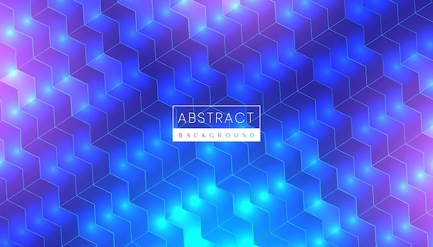 Fondo astratto moderno di tecnologia con luce al neon futuristica e superficie luminosa