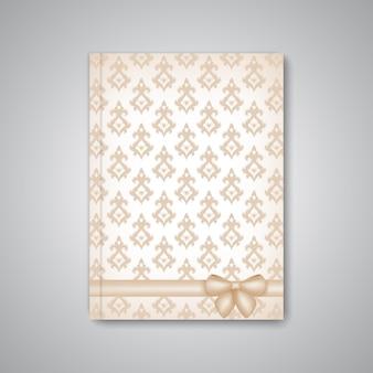 Brochure, rivista, flyer, copertina o report di layout modello astratto moderno in formato a4 per il tuo design.