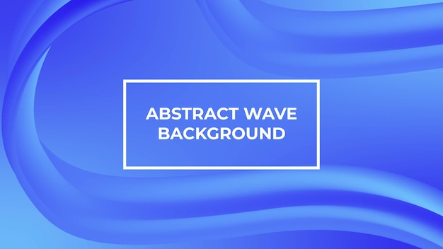 Pagina di destinazione del fondo di forma del gradiente del fluido dell'onda astratta moderna