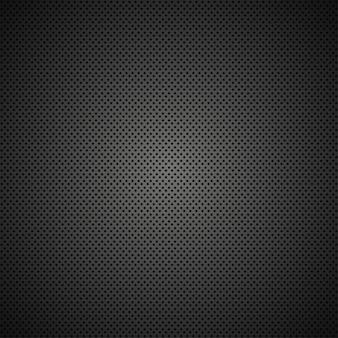 Moderna struttura a griglia in metallo nero