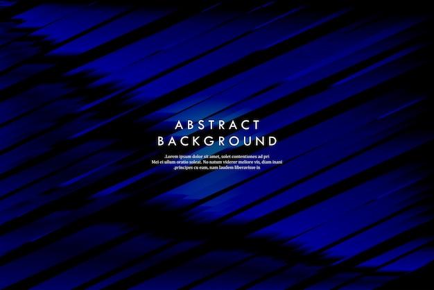 Moderne forme geometriche astratte blu